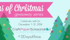 FaveCrafts' 12 Days of Christmas Sleigh of Prizes Giveaway