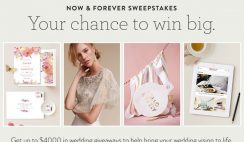 Minted's Tis the Season To Be Married Sweepstakes