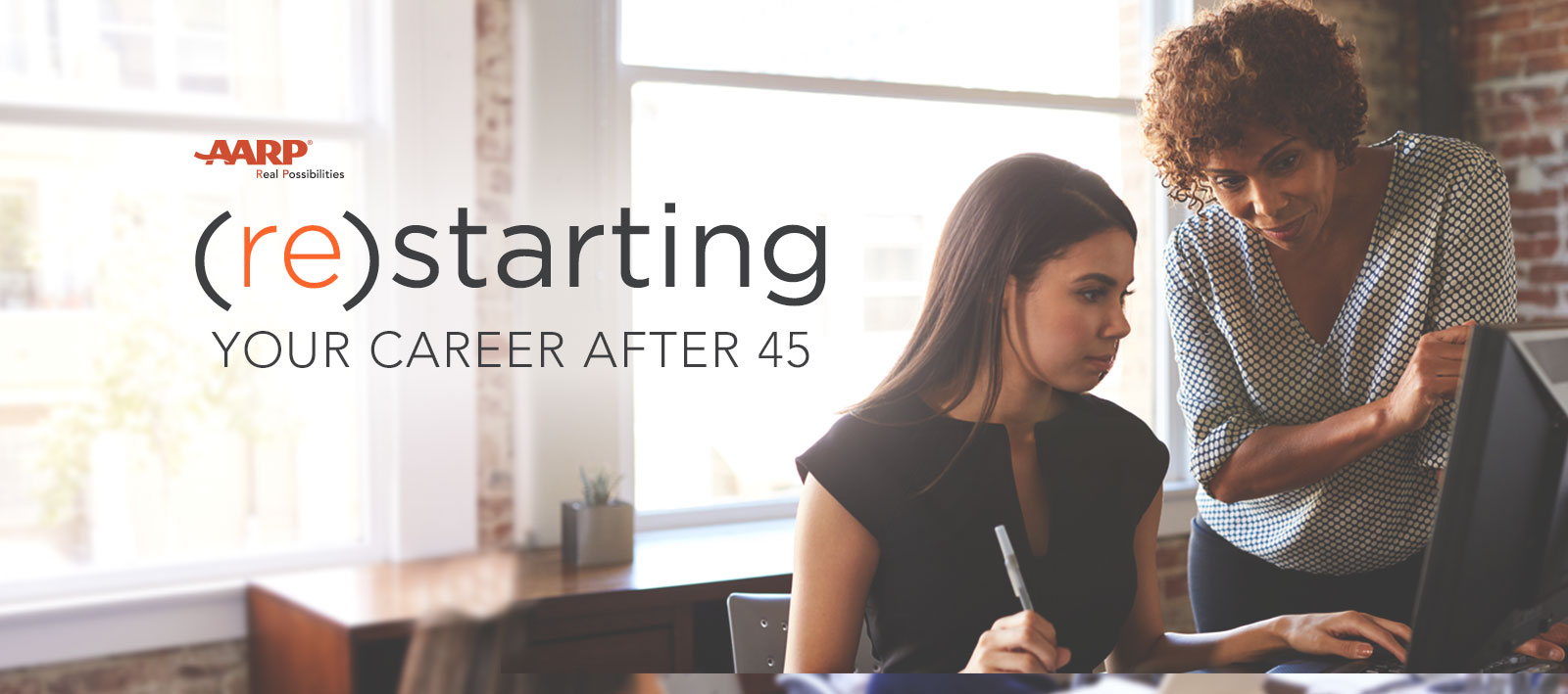 AARP's (re)starting Your Career After 45 Sweepstakes