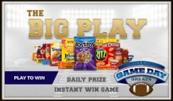 Kroger's Game Day Greats Instant-Win Sweepstakes