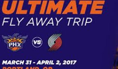 Phoenix Suns' Southwest Airlines Ultimate Fly Away Trip Sweepstakes