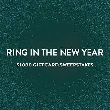 Westfield's New Year Sweepstakes