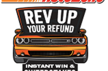 AutoZone's Rev Up Your Refund Instant Win Game and Sweepstakes