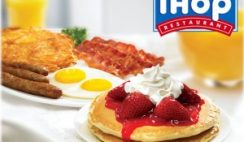 Free Pancake at IHOP