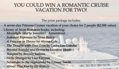 Harper Collins' Avon x Princess Cruises Valentine's Day Sweepstakes