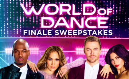 NBC's World of Dance Finale Sweepstakes