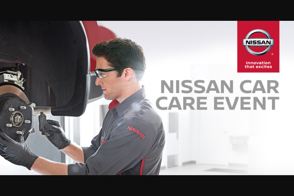 Nissan's Car Care Event Sweepstakes