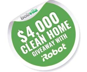 Bob Vila's $4,000 Clean Home Giveaway