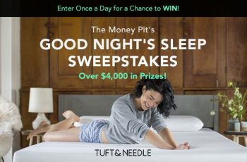 The Money Pit's Good Night's Sleep Sweepstakes