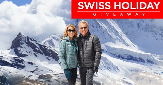 Wheel of Fortune's Swiss Holiday Giveaway