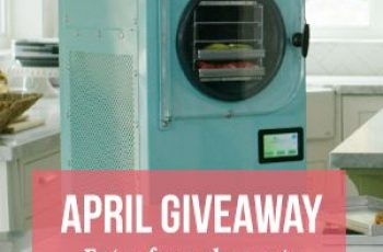 Harvest Right's Win a Small Home Freeze Dryer Contest
