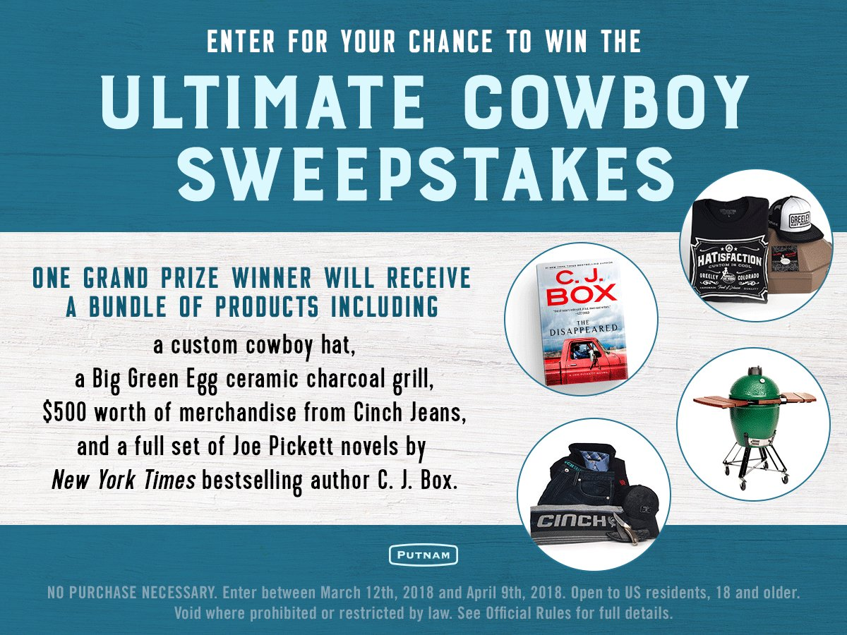 Penguin Random House's Ultimate Cowboy Sweepstakes