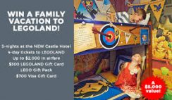 Red Tricycle's Legoland Castle Hotel Giveaway