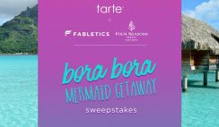 Tarte Cosmetics' Mermaid Getaway Sweepstakes
