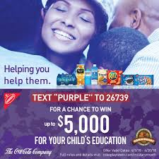 Coca-Cola's Month of the Military Child Sweepstakes