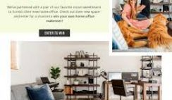 Ashley HomeStore's Marcus & Kristin Home Office Sweepstakes