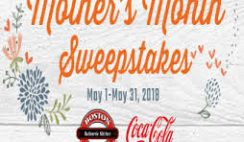 Boston Market's Mother's Month Sweepstakes