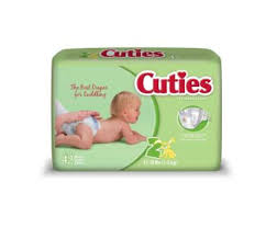 Free Cuties Diapers Sample