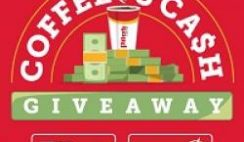 Pilot Flying J's Coffee and Cash Giveaway