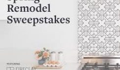 Remodelista's Spring Remodel Sweepstakes