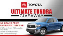 Bassmaster's Toyota Ultimate Tundra Giveaway