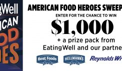 Eating Well's American Food Heroes Sweepstakes