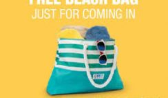 Free Beach Bag at RC Willey