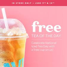 Free Tea of the Day from David's Tea
