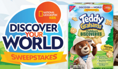 National Geographic's Discover Your World Sweepstakes