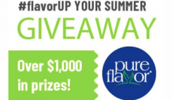 Pure Flavor's $1,000 Grocery Gift Card Sweepstakes