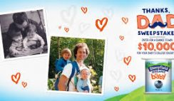 Stonyfield's Thanks, Dad Sweepstakes