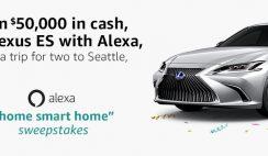 Amazon's Alexa Home-Smart-Home Sweepstakes