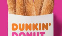 Free Donut Fries from Dunkin Donuts