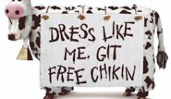 Free Entree at Chick-fil-A When You Dress Like a Cow