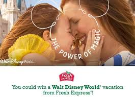 Fresh Express Salads' Magical Family Time Sweepstakes