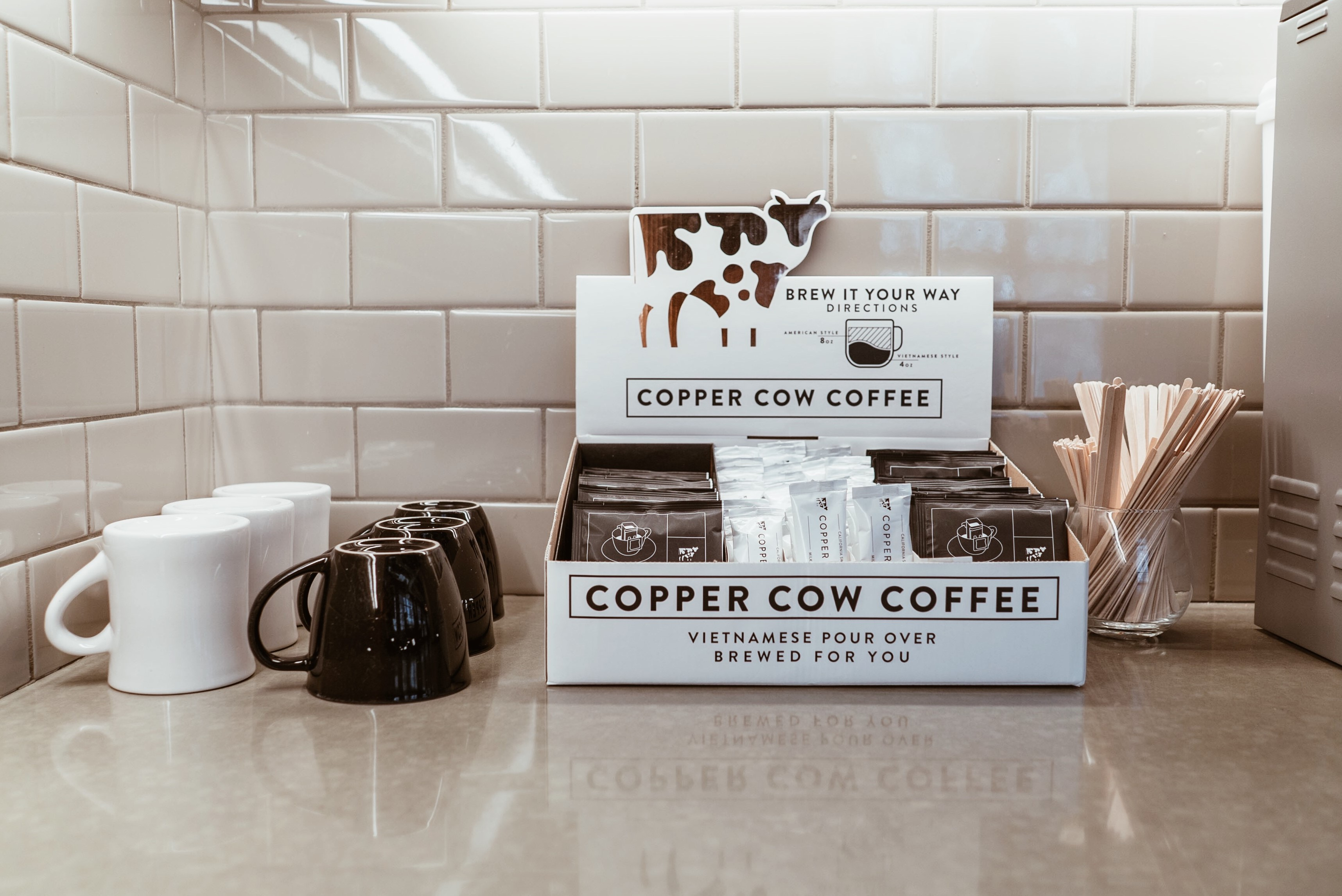 Free Copper Cow Coffee Sample