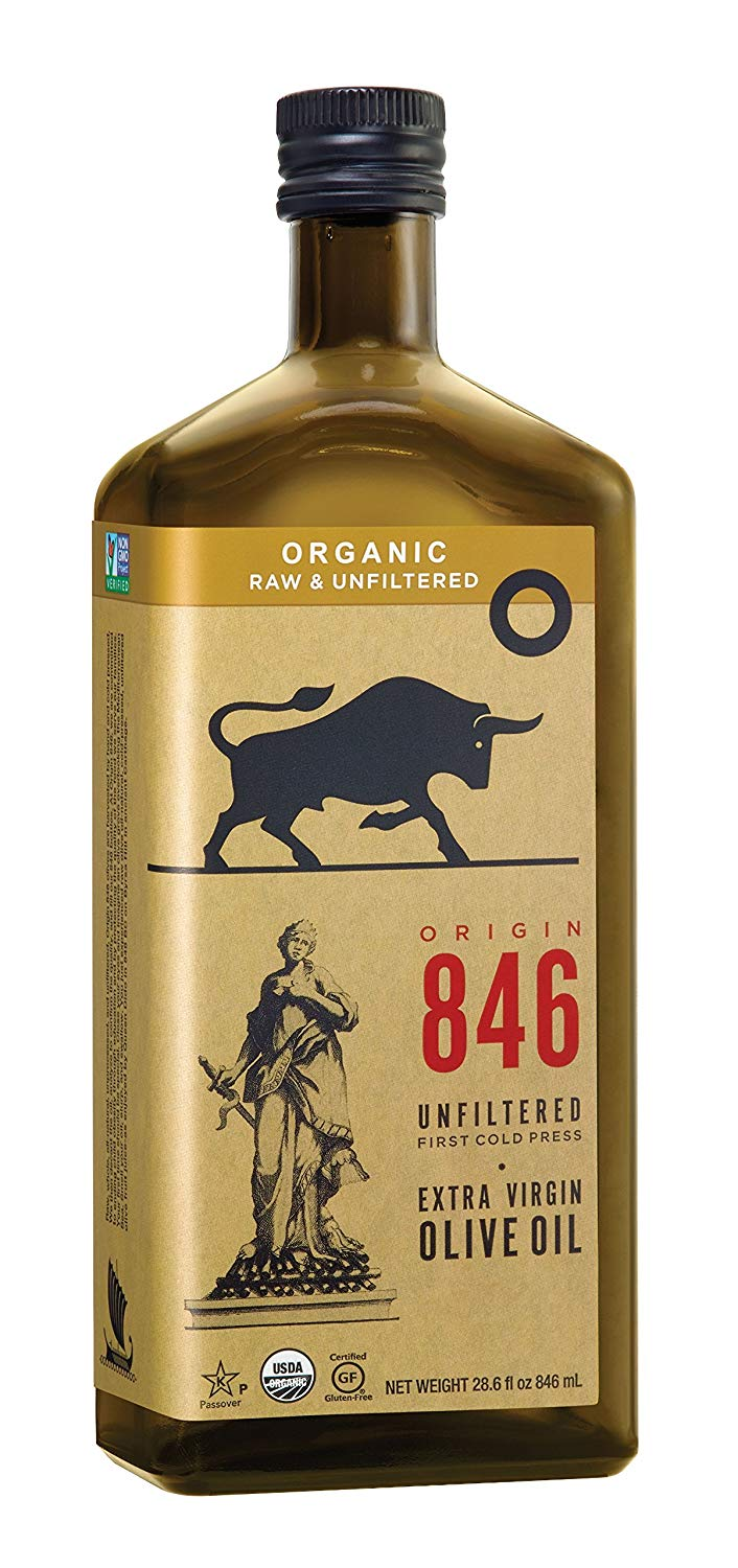 Free Origin 846 Unfiltered Organic Olive Oil Sample