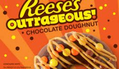Free Outrageous Reese's Chocolate Donut from Krispy Kreme