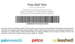Free Pet Nails Trim at Petco