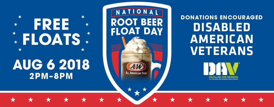 Free Root Beer Float from A&W Restaurant