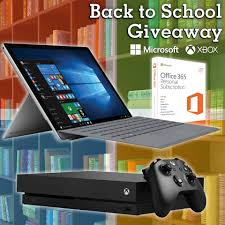 P.C. Richard and Son's Microsoft and Xbox Back to School Giveaway