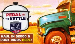 Rudolph Foods' Pedal to the Kettle Sweepstakes