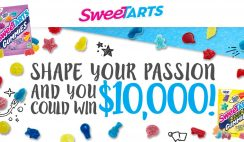 Sweetarts' Shape Your Passion Sweepstakes