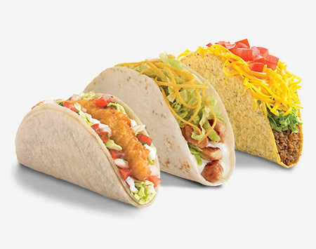 Free 2 Tacos Coupon from Del Taco