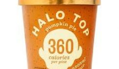 Free Halo Top Pumpkin Pie Pint