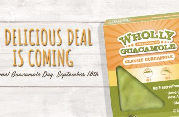 Free Wholly Guacamole Product Coupon