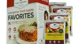 Free Wise Company Emergency Food Sample