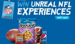 Frito Lay's Tostitos Every Bag Is a Chance to Win Sweepstakes