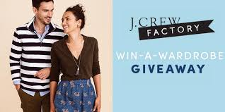 J.Crew Factory's Win-a-Wardrobe Giveaway
