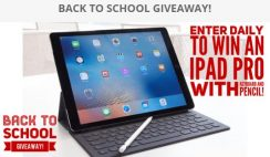 Javier Villarreal's Back to School Giveaway